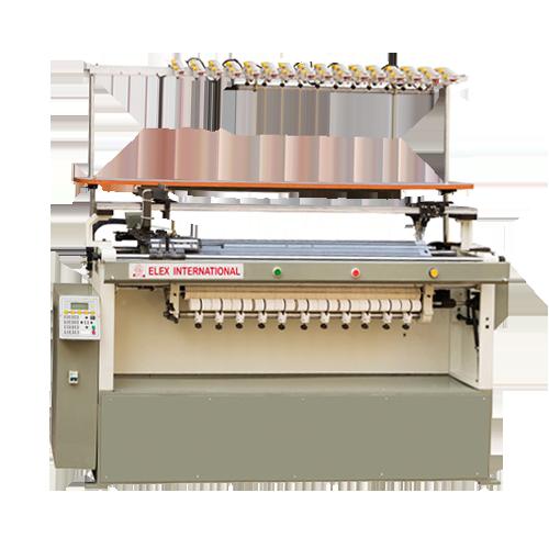 Elex India Computerized Automatic Flat Knitting Machine